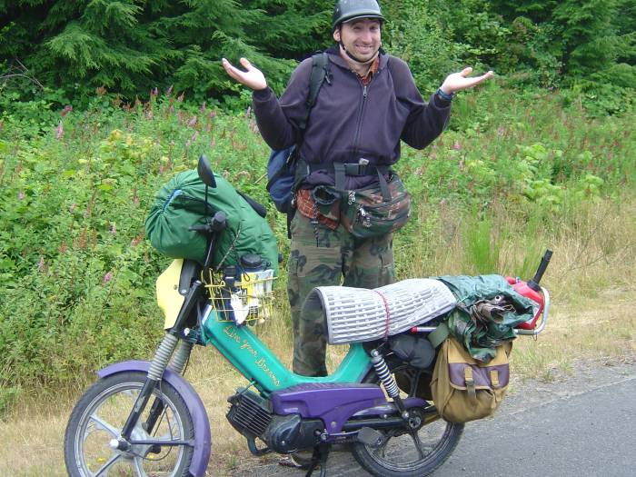 2005 Tomos (searching for bigfoot)