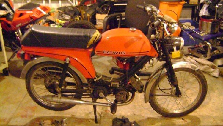 1980 Batavus Starflite HS | Moped Photos — Moped Army  Batavus