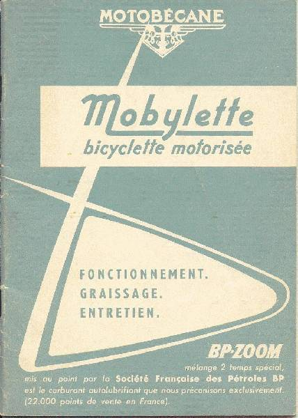 1969 Mobylette SP93