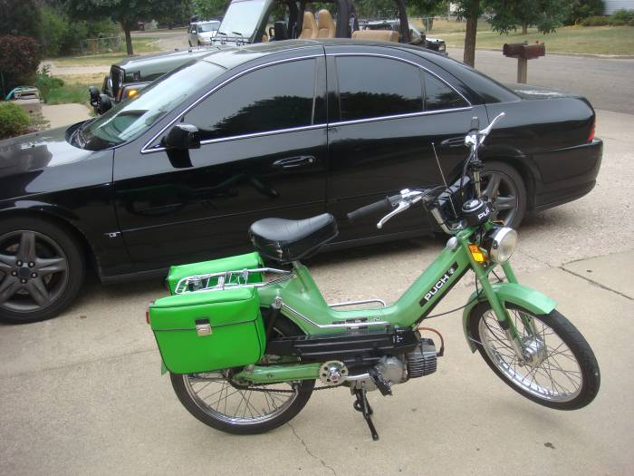 1978 Puch Maxi Luxe (Green)