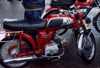 Honda CD50 (Red)