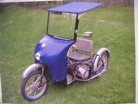 1975  (Erkkola Invalid-moped from Finland)