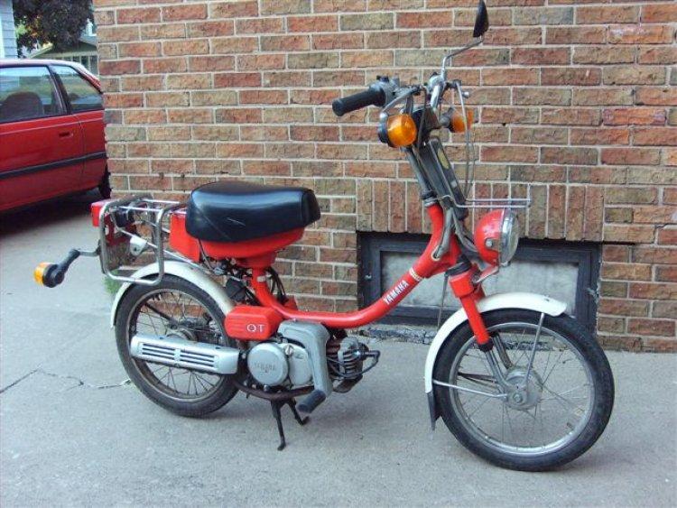Yamaha Mopeds Cc