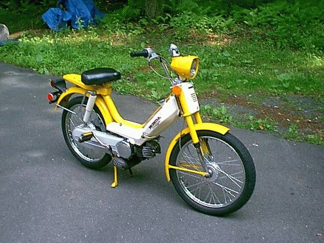 1978 Honda Hobbit 1978 Honda Hobbit, Yellow | Moped Photos — Moped Army