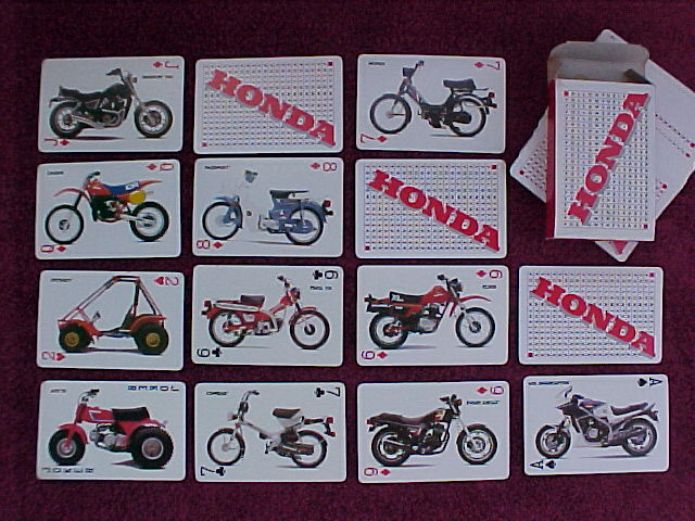 Honda (Playing Cards)