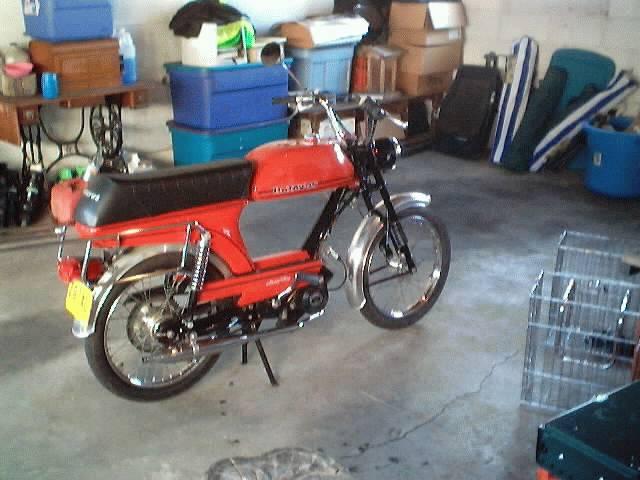 1979 Batavus Starflite, Red | Moped Photos — Moped Army  Batavus