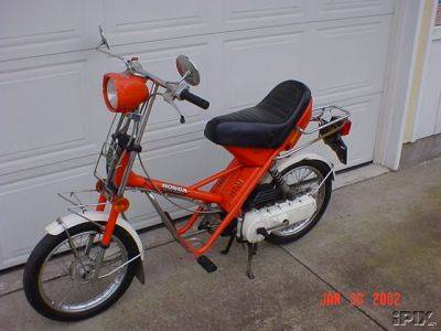 1979 Honda Express II NA50, Red | Moped Photos — Moped Army