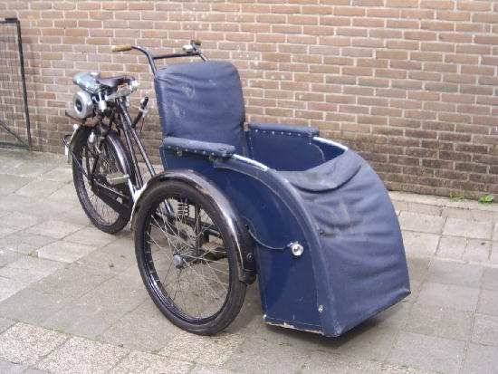 1955  (Wheelchair Moped)