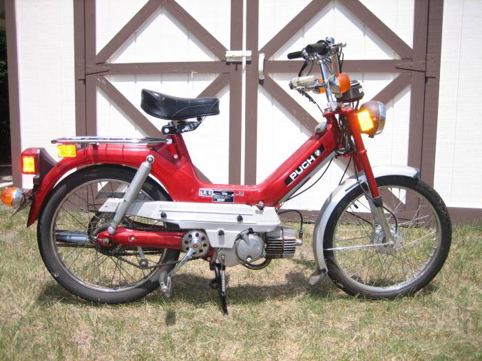 1979 Puch Maxi (Red)