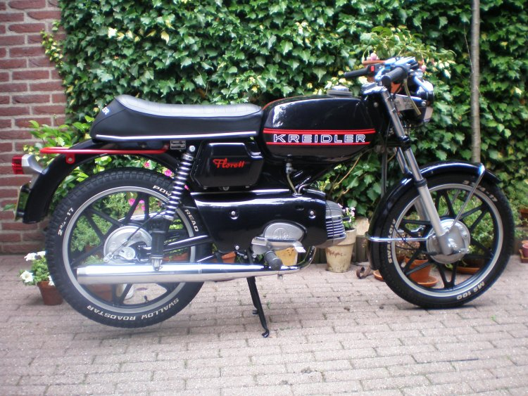 Cafe Racer Moped