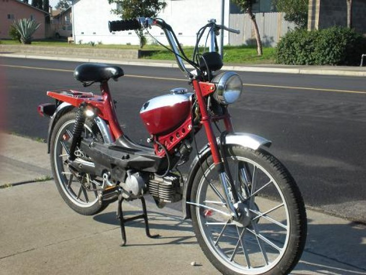 Something 1978 swinger 2 moped parts from
