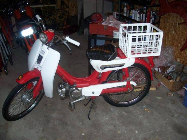 1971 Honda PC50 (PC50A)