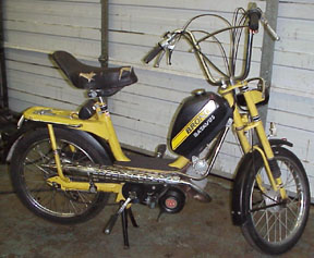 1977 Batavus Bronco (Yellow and Black)