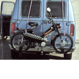 1980 Motobecane 50VLX (with van carrier)