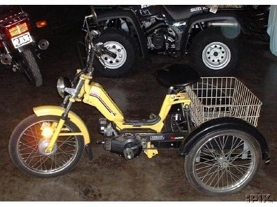 1980 Motron (Trike, Yellow)