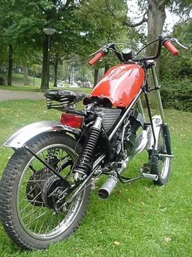Honda, MT-5 Custom made Chopper.   Moped Photos — Moped Army