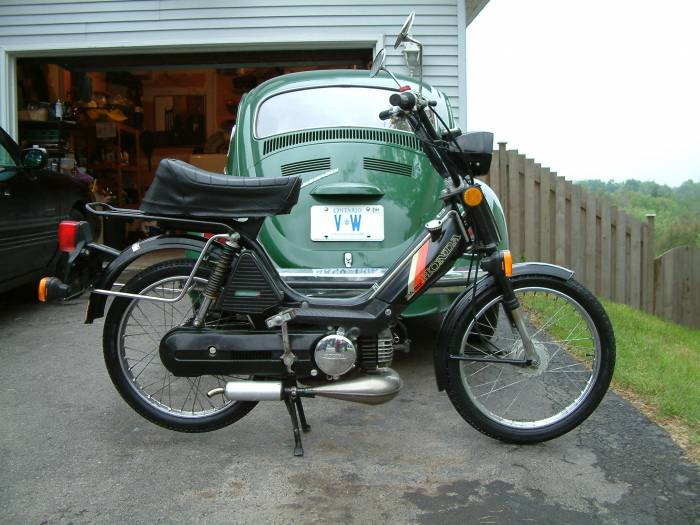 1983 Honda Pa50 Ii  Black With Proma Circuit Exhaust