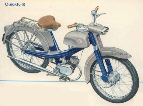1957 nsu quickly n illustration moped photos moped army. Black Bedroom Furniture Sets. Home Design Ideas