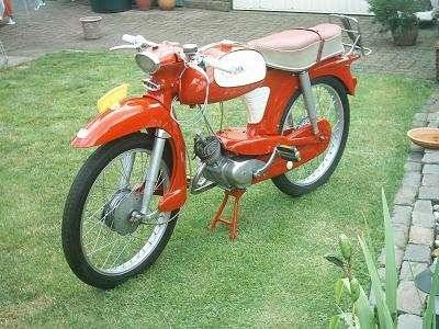 1962 nsu quickly tt red moped photos moped army. Black Bedroom Furniture Sets. Home Design Ideas