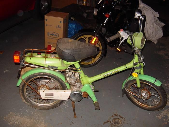 1977 Honda Express Nc50 Moped Photos Moped Army