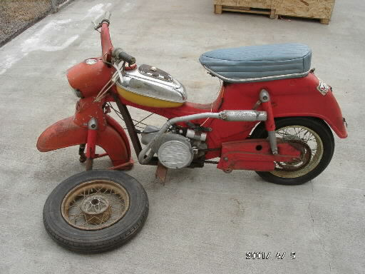 1960 Puch (Scooter, Red)