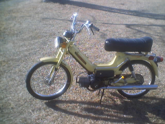 1977 Puch Newport (Yellow)