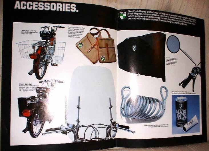Puch (Accessories Brochure)