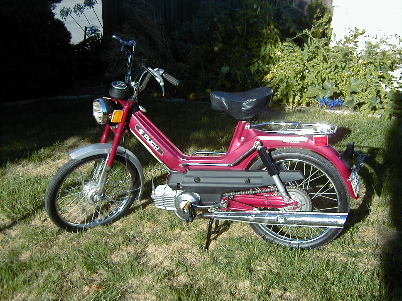 1977 Puch Maxi (Red)