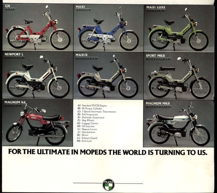 Puch (All Models Brochure)