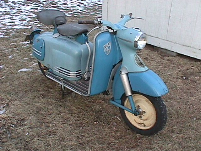 Puch (Double Seat Scooter)