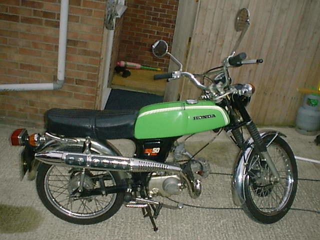 1978 honda ss50 green moped photos moped army. Black Bedroom Furniture Sets. Home Design Ideas