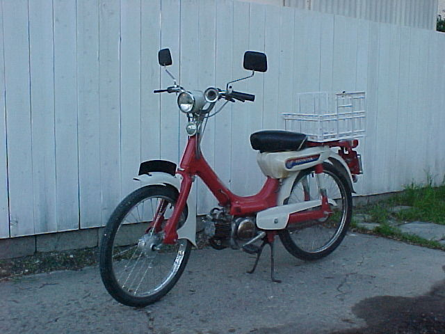 1969 Honda PC50 (Red)