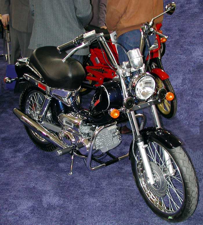 Tomos Revival (Black, Front view)