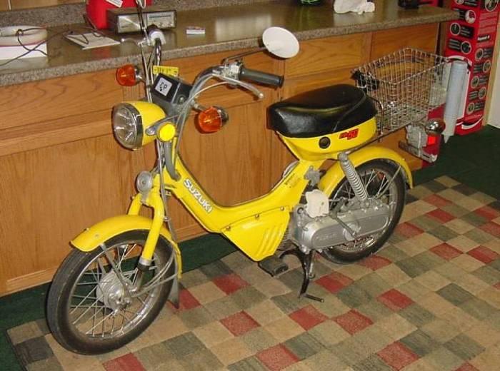1983 Suzuki FA50 (Yellow)