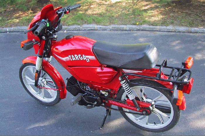 1995 Tomos Targa LX (Red)