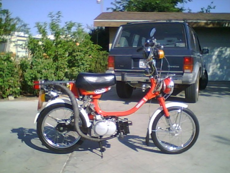 1979 Yamaha QT50 Yamahopper