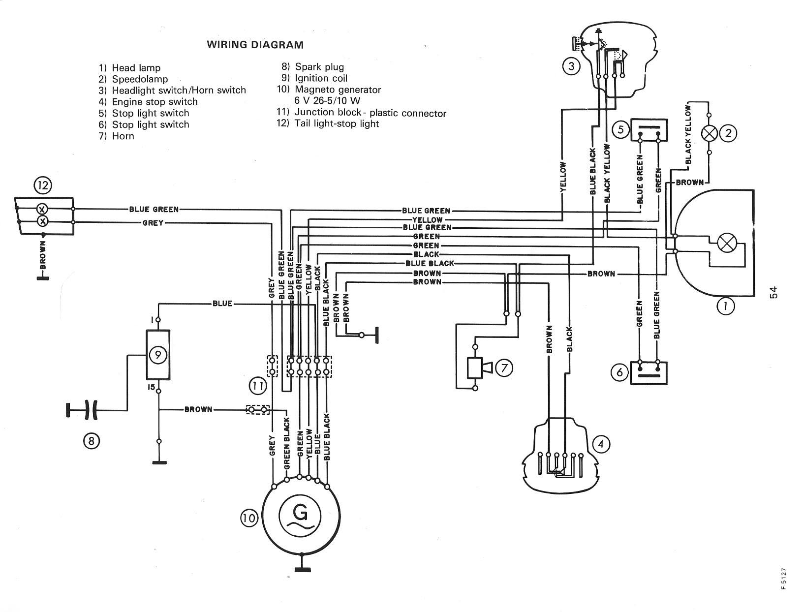 Puch Wiring Diagrams Moped Wiki Stop Switch Diagram Murray