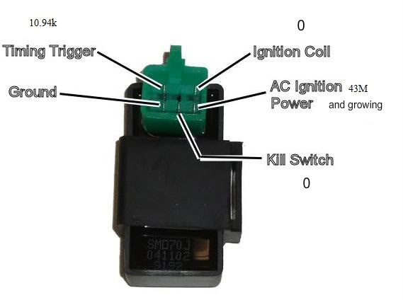 on 4 pin cdi wiring diagram coil