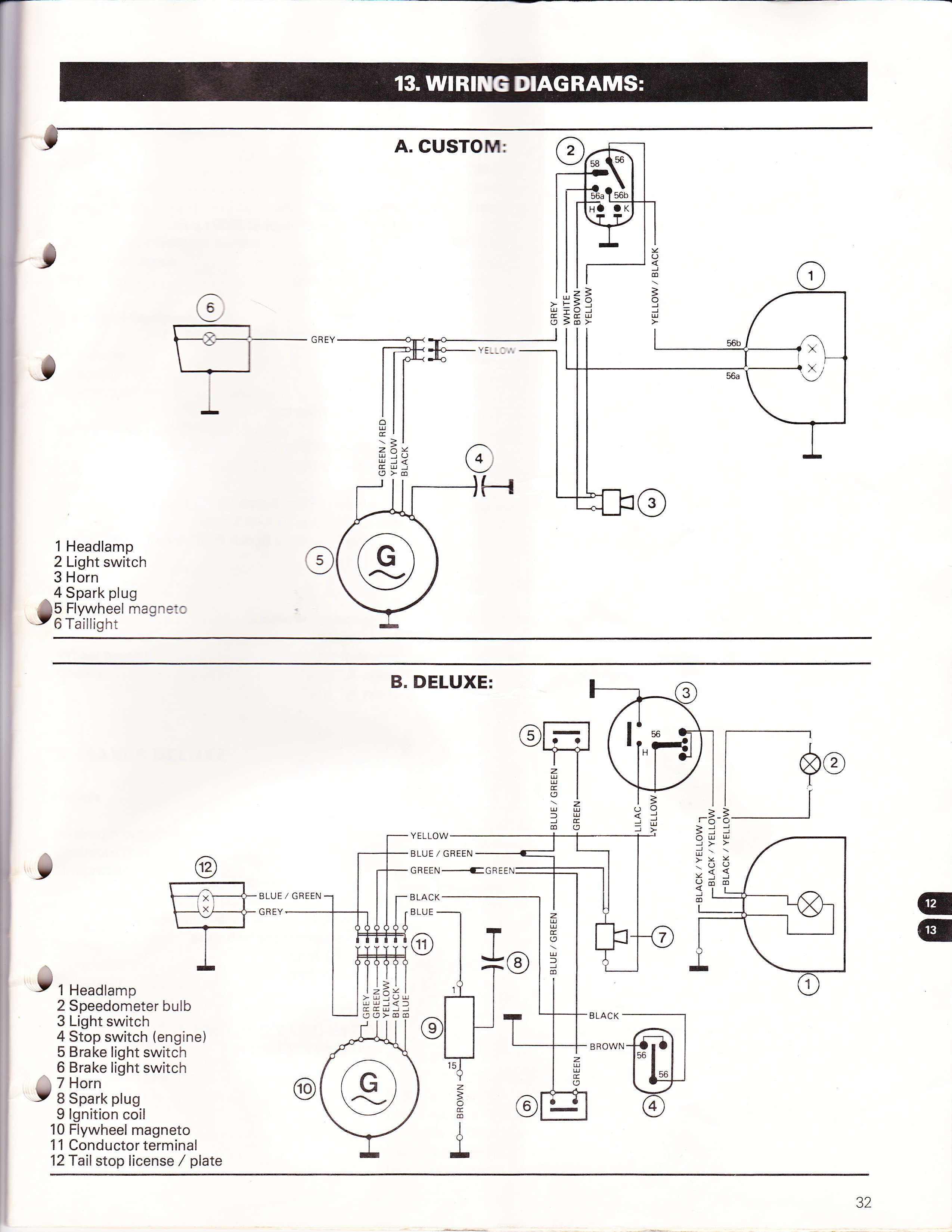 magneto wiring diagram