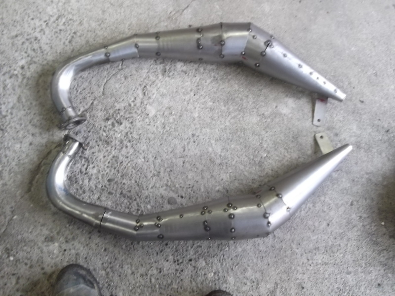 DIY expansion chamber exhausts - Moped Wiki