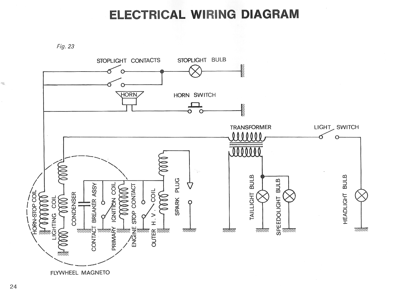Peugeot Wiring Diagrams Moped Wiki Electrical For Condenser 102 2