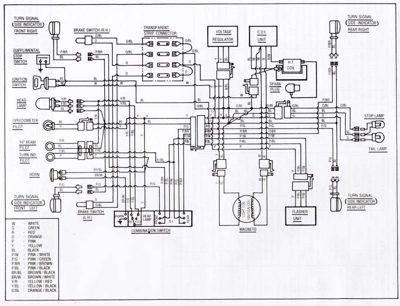Kinetic_wiring_diagram yamaha zuma 50cc scooter wiring diagram 2013 moped scooter wiring 49Cc Scooter Wiring Diagram at mifinder.co