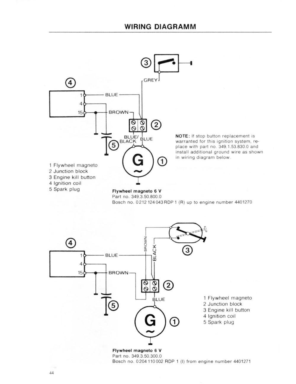 [DIAGRAM_38DE]  Puch wiring diagrams - Moped Wiki | Wiring Diagram Puch Newport |  | Moped Army
