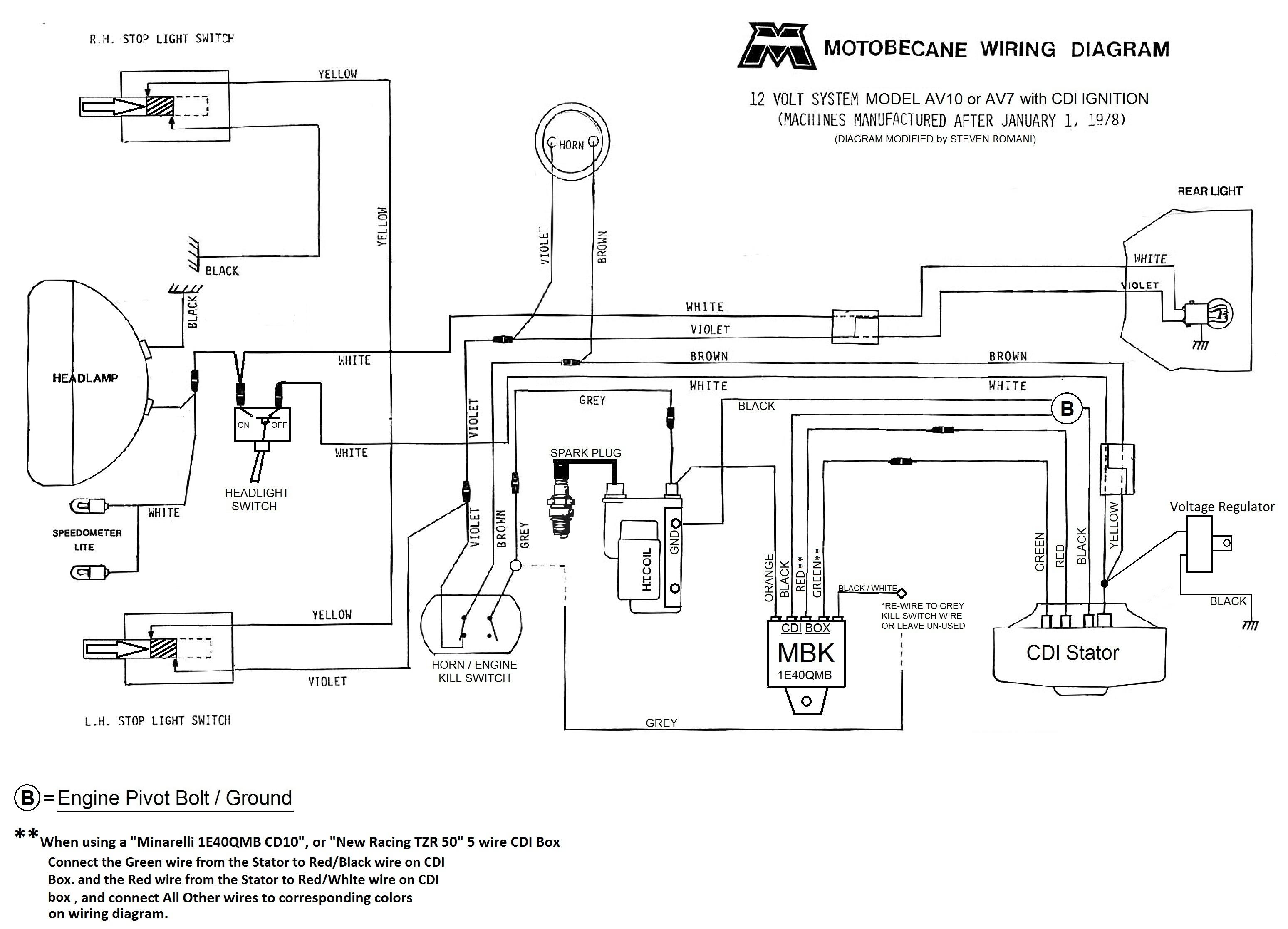 Atv Wiring Diagram For Horn