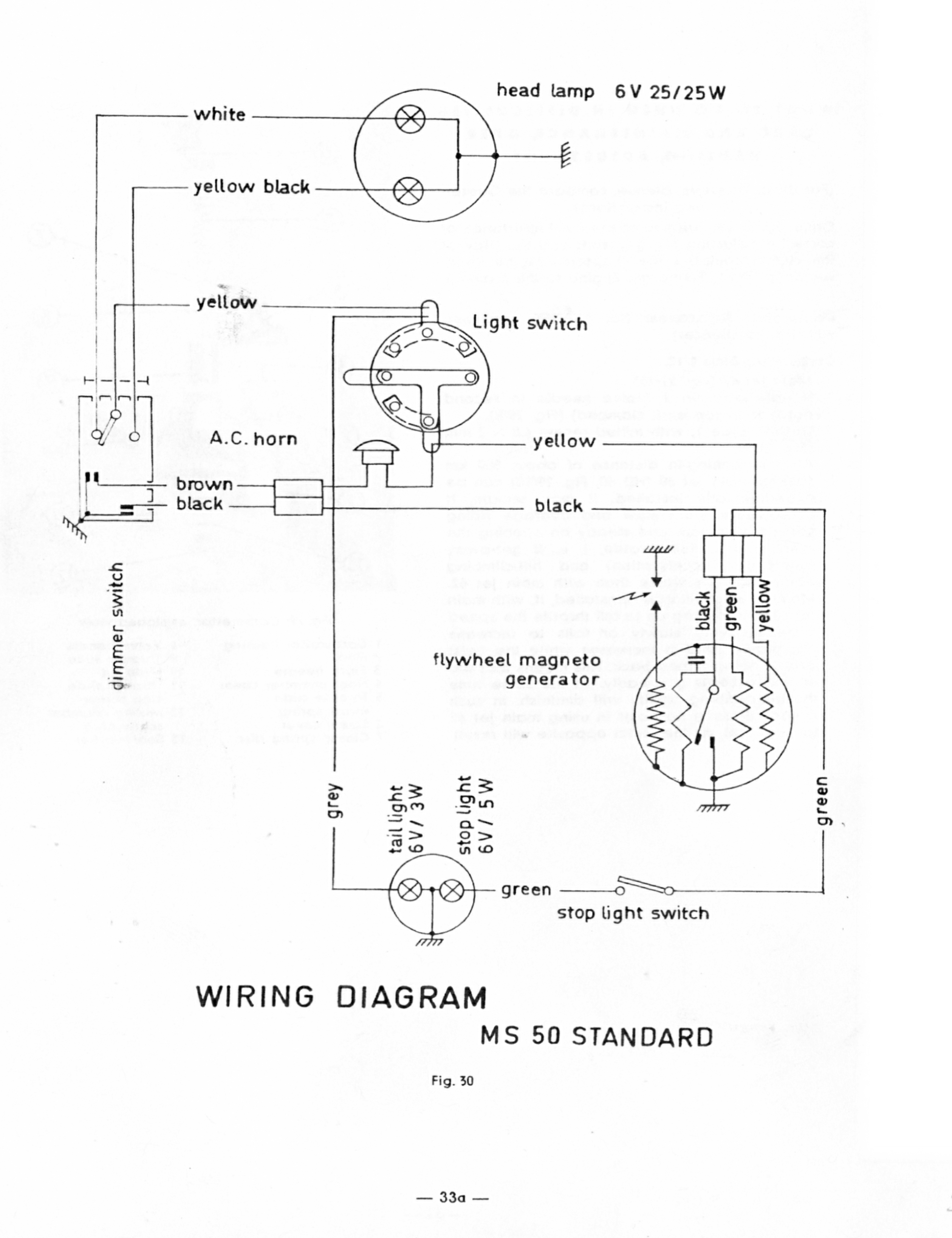 puch wiring diagrams - moped wiki puch moped wiring diagram
