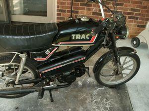 trac hawk olympic clipper moped full service repair manual