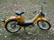 1978 Columbia Commuter w/ stamped frame & Sachs motor.