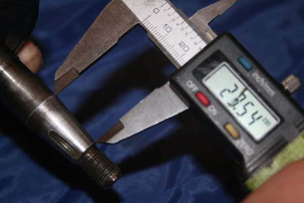 measure small taper